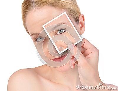 Beauty Eye Wrinkle Makeover