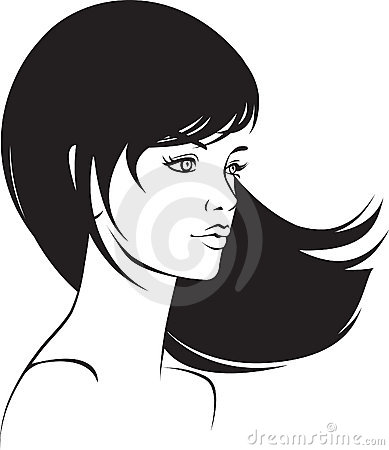 Beauty  face girl portrait