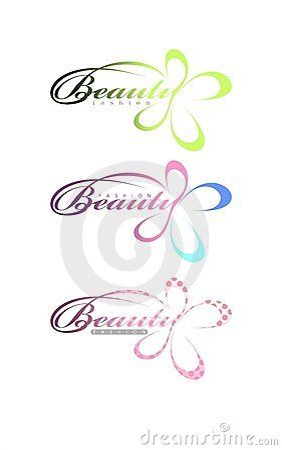 Beauty fashion text