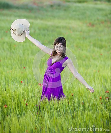 Beauty on field