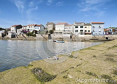 Beauty fishing village in Spain