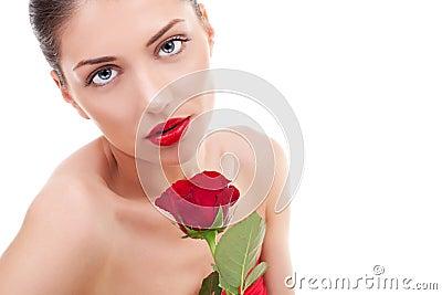 Beauty flower girl