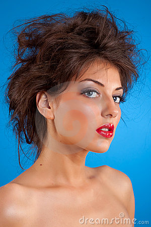 Beauty Girl With Nice Hair Royalty Free Stock Photo - Image: 15158935