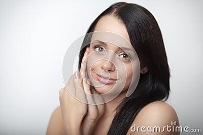 Beauty head shot