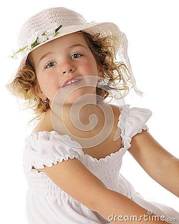 Beauty in Her Easter Bonnet