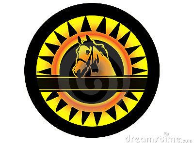 Beauty horse logo