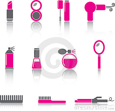 Free Beauty Icon Set Stock Photos - 6477573