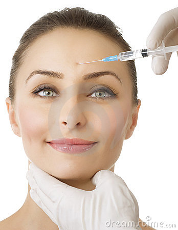 Beauty Injection of botox