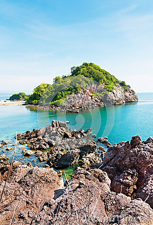 Beauty island in Thailand