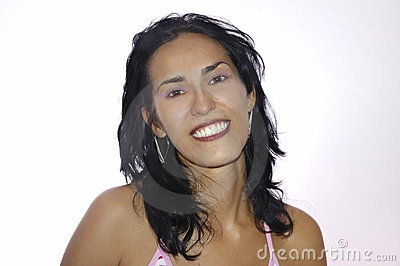Beauty latin young woman