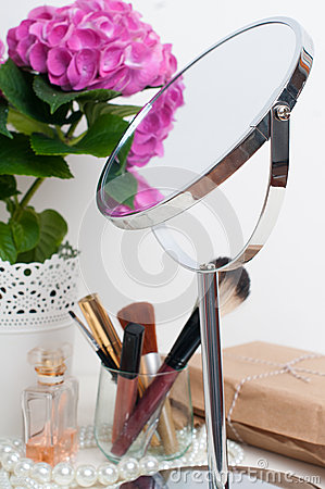Beauty and make-up concept