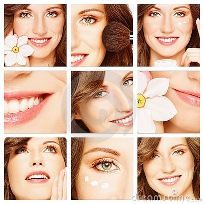 Beauty, makeup and skin care