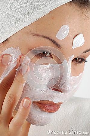 Free Beauty Mask 21 Stock Photography - 2437832