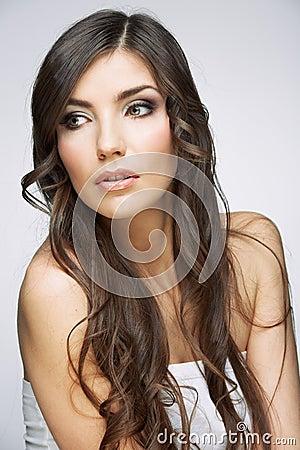 Beauty model posing.
