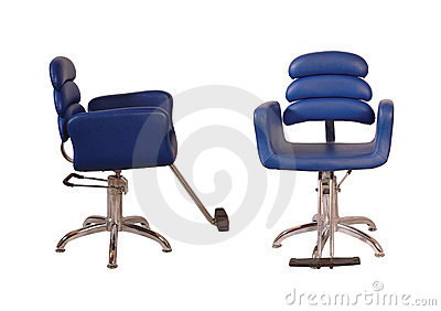 Beauty parlour chair - Blue