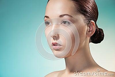 Beauty portrait of Asian woman