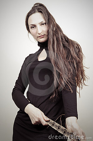 Beauty Portrait - Little Black Dress