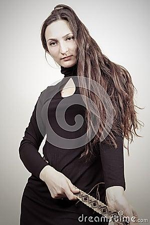 Beauty Portrait - Little Black Dress