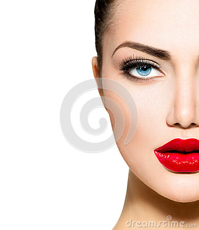 Beauty Portrait. Professional Makeup