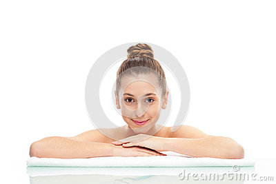 Beauty Portrait Of Young Female Royalty Free Stock Photos - Image: 27302258