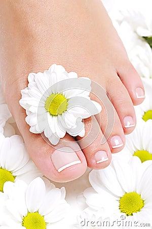 Beauty pure female foot