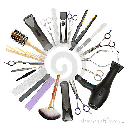 Free Beauty Salon And Barbershop Background Royalty Free Stock Photo - 27094185
