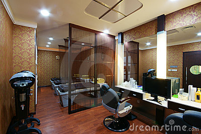 Beauty salon decoration stock photography image 6773502 for Decoration de salon