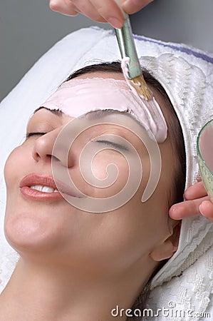 Salon facial combining traditional facial transport you friend for dr