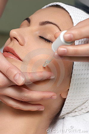 Free Beauty Salon Series, Special Skin Treatment Stock Photography - 5033702