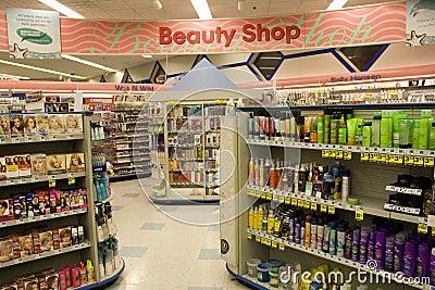Beauty Shop Editorial Stock Photo