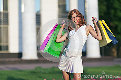 Beauty shopping woman