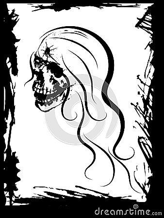 Beauty skull