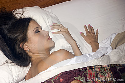 Woman Gets Much Needed Beauty Sleep
