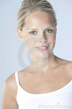 Beauty Smiling On Plain Background. Royalty Free Stock Photo - Image: 25325915