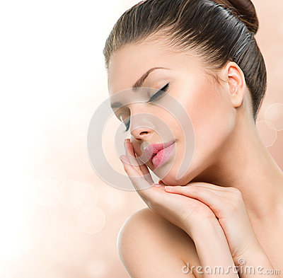 Free Beauty Spa Woman Portrait Stock Images - 42041044