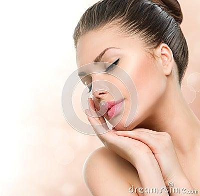 Free Beauty Spa Woman Portrait Stock Images - 42041044
