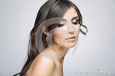 Beauty style female portrait