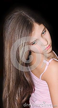 Beauty teen girl