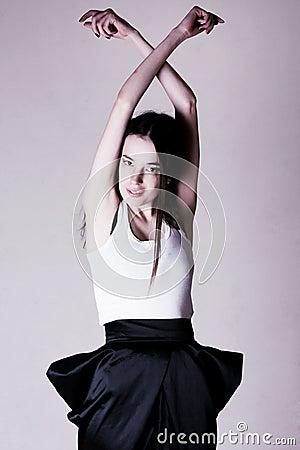 Beauty thin woman