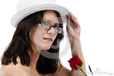 Beauty tips her hat