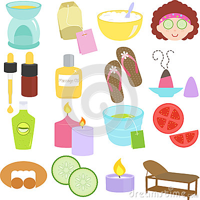 Beauty tools, Spa Icons