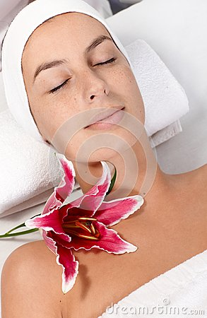 Beauty treatment in dayspa