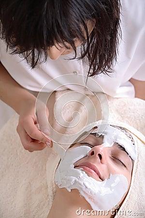 Free Beauty Treatment Facial Royalty Free Stock Photo - 1767965
