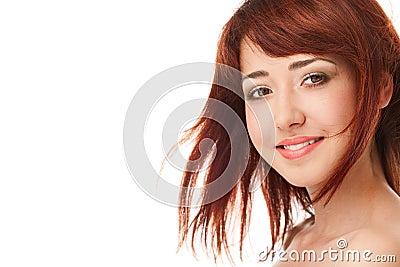 Beauty woman face