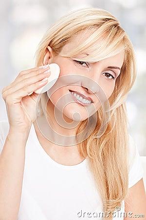 Beauty woman making-up