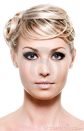 Beauty of woman s face
