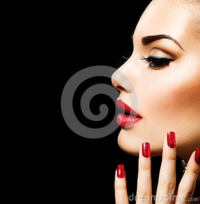 Free Beauty Woman With Perfect Makeup Stock Photos - 29622973