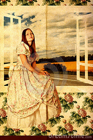 Free Beauty Young Woman Near The Window Stock Photo - 18738810