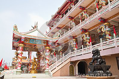 The beautyful Chinese shrine
