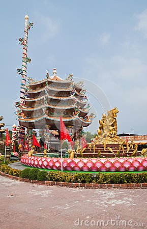The beautyful Chinese shrine